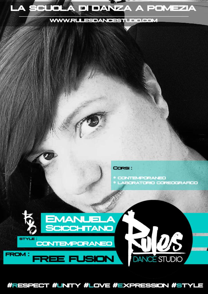 Emanuela Scicchitano // Contemporaneo / Laboratorio coreografico